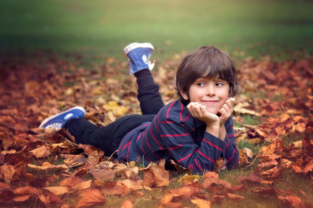 Autumn children's sessions Elisabeth Franco Photography
