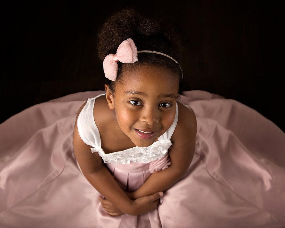 Elisabeth Franco Photography studio children's photoshoot in Gloucester