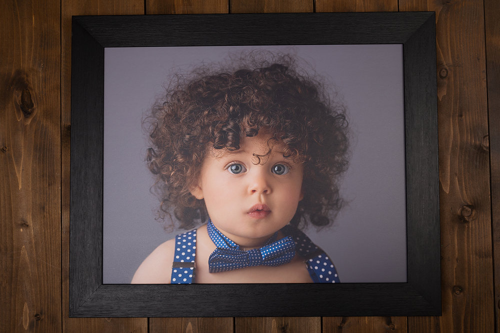 Classic framed canvas