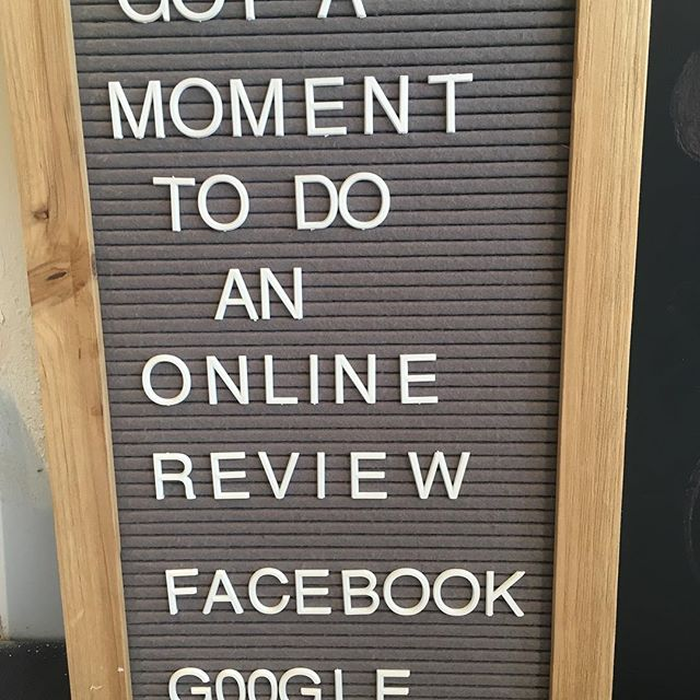 Only if you have a moment #reviews #heathfield #chillysunday #grateful #hairsalon #google #facebook #phdheathfield