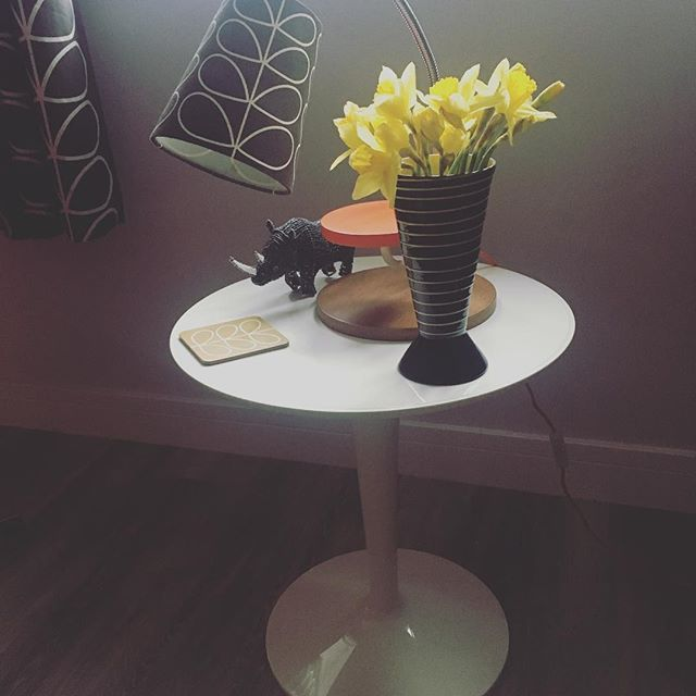 Thanks @annaspanner73 for the lovely daffodils 🌼 #spoilt #lovelyclients #grateful #spring #yellow #home #happy #heathfield
