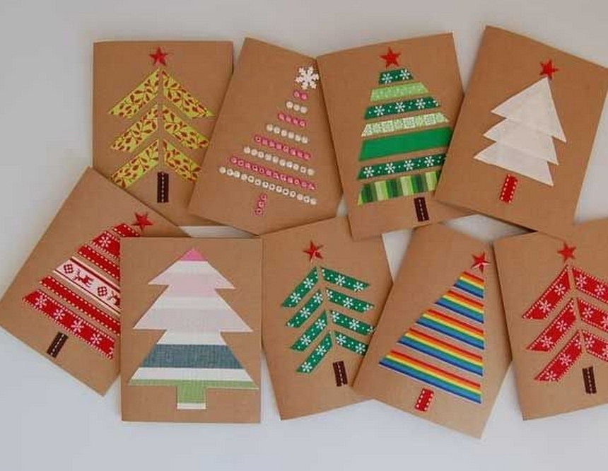 Ideas For Christmas Cards For Kids.Christmas Card Workshops Hawarden Estate Farm Shop
