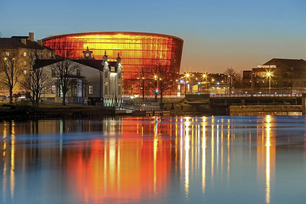 Great Amber Concert Hall in Liepāja, Liepāja Region Tuorism Information Centre