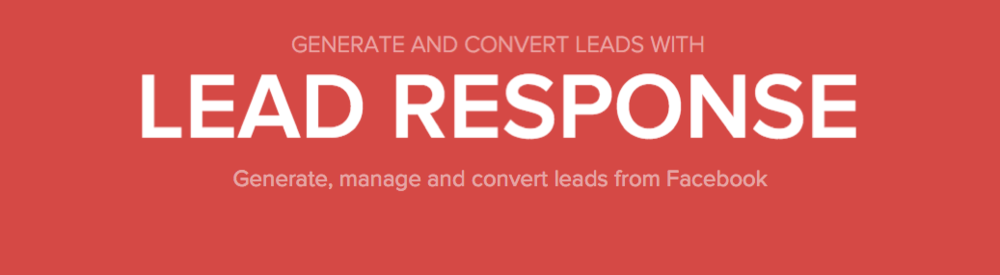 Sync Facebook Lead Ads with Driftrock Lead Response