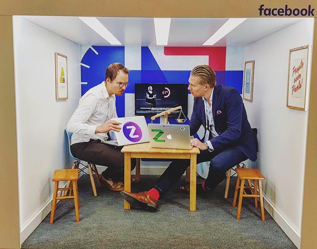 Big boys or small room? ☺️ #FacebookMarketingPartner #Zalster