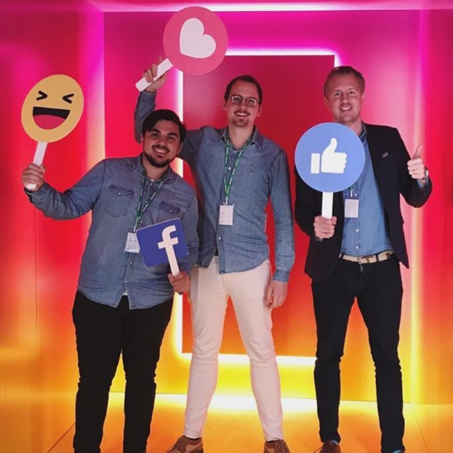 We're 🚀 at Facebook HQ this week! #FacebookMarketingPartner
