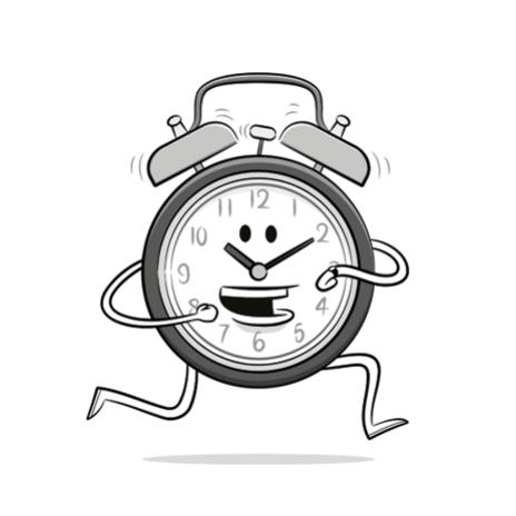 alarm clock illustration