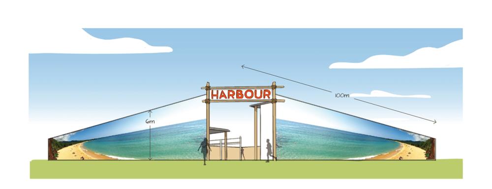 frontage illustration