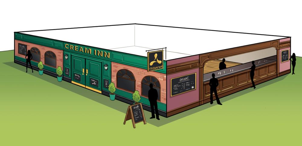 pub illustration