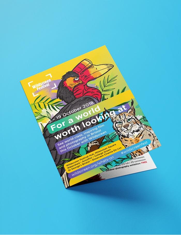 leaflet cover design