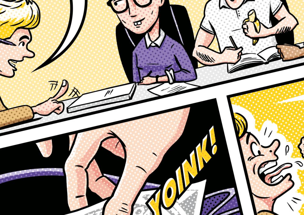 Comic strip illustrator