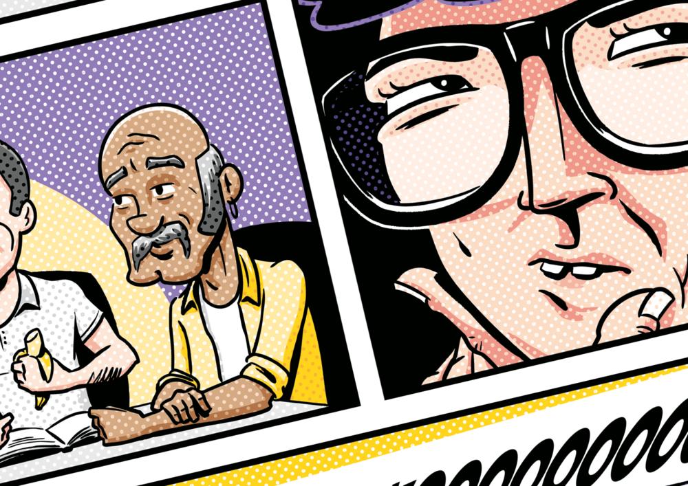 Comic illustrator