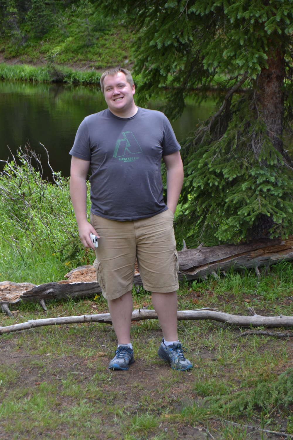 August 2014 - We took a trip to Rocky Mountain National Park and I'm puffy again.