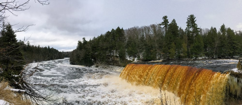 Tahquamenon Falls - Upper Falls - December 2015