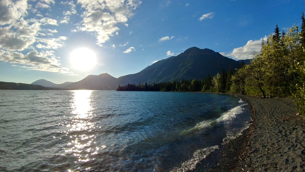 Quartz Creek Campground - Kenai Lake