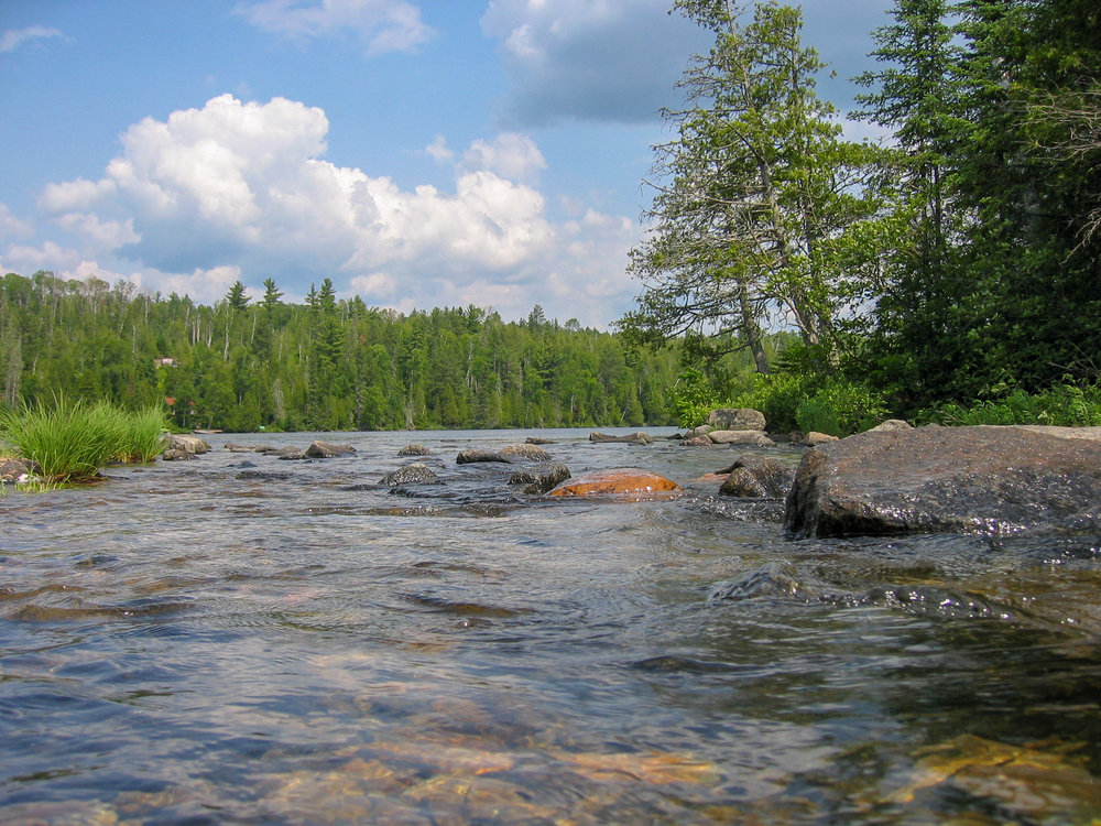 Boundary Waters flowing into non Boundary Waters area