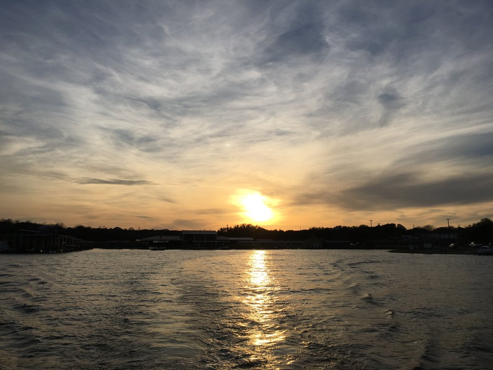 From this week back in March of 2016 (Lake Granbury - Granbury, Texas)