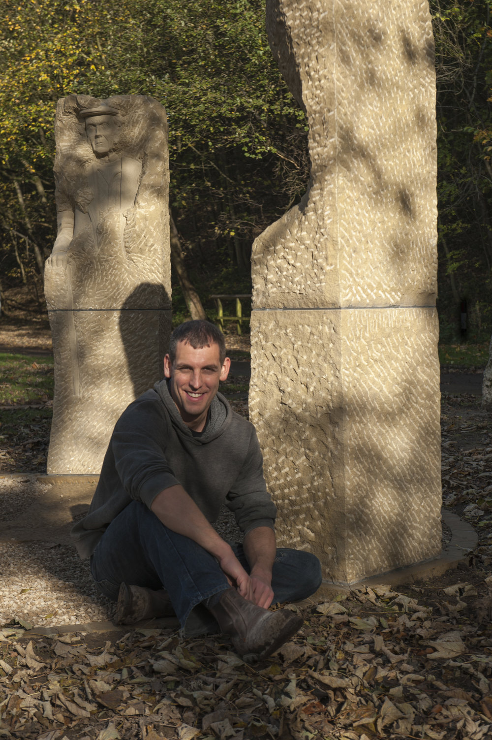 Joseph with Pillars Past- photo by Paul Harris