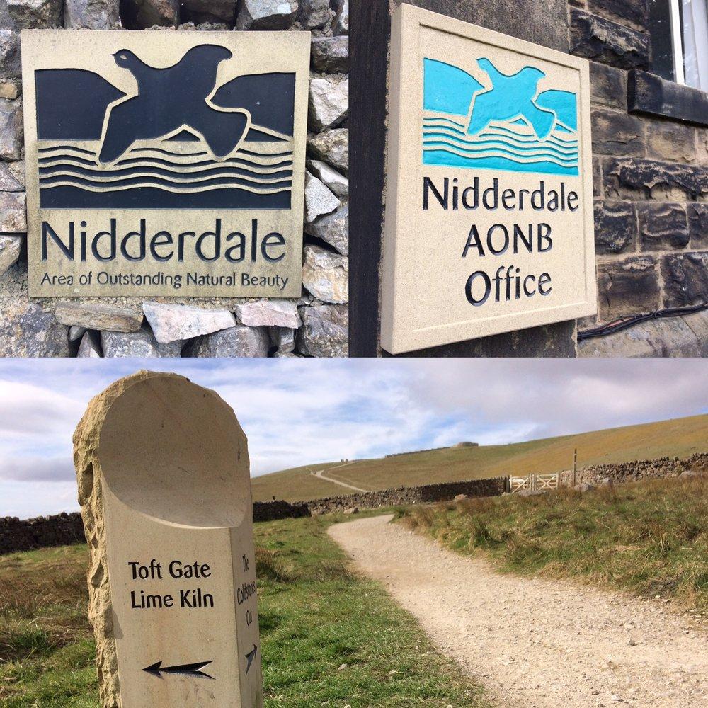 Signage made for Nidderdale AONB