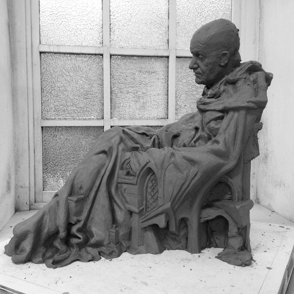 portrait sculpture -