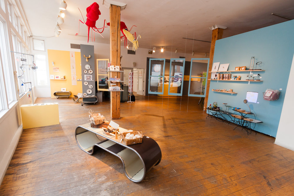 PMRNI Gift Shop , organized by Pita Brooks. Image by Jerry Mann, courtesy of SPACES.