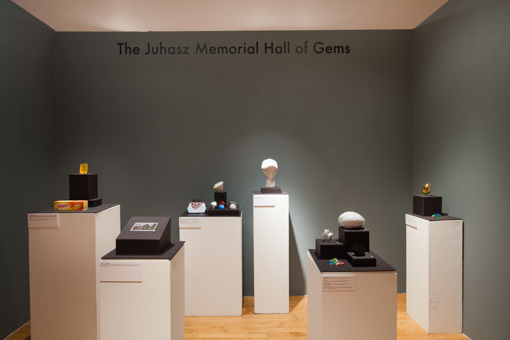 Brandon Juhasz,  The Juhasz Memorial Hall of Gems .Image by Jerry Mann, courtesy of SPACES.