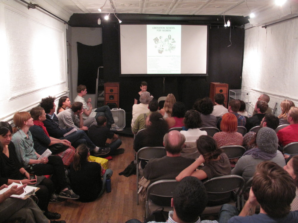 Crash Course on Collective Process Screening organized by Paper Tiger Television, Red Channels and Union Docs