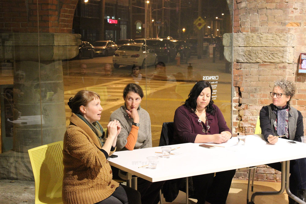 The SPACES Mistake Lab with panel discussion by Sara Black & Amber Ginsburg, image courtesy of SPACES