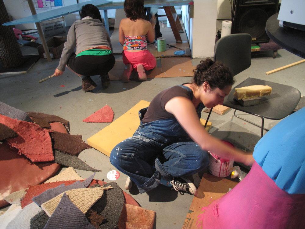 Kitty City painter