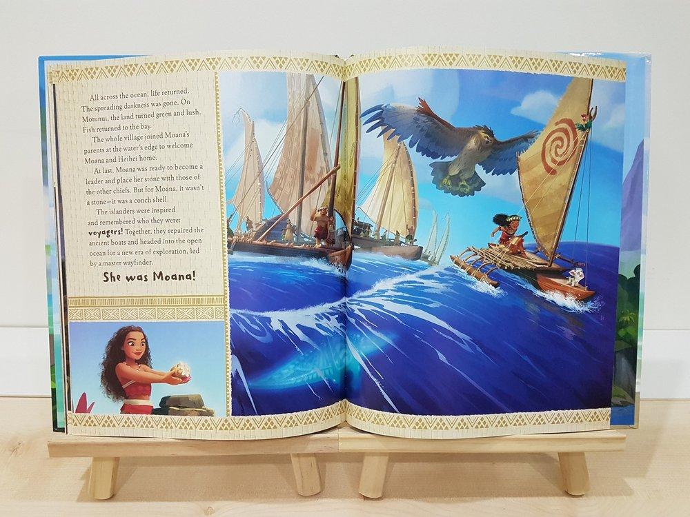 A Big Golden Book - Moana