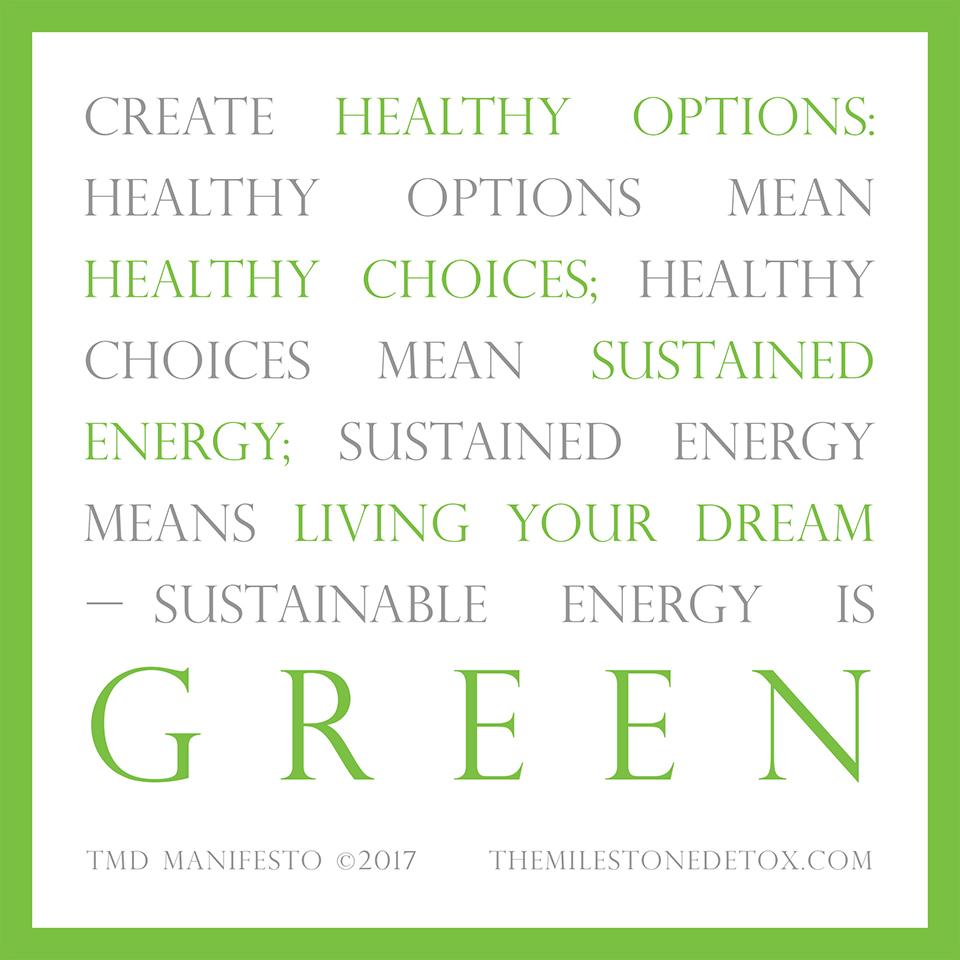 TMD Manifesto quote