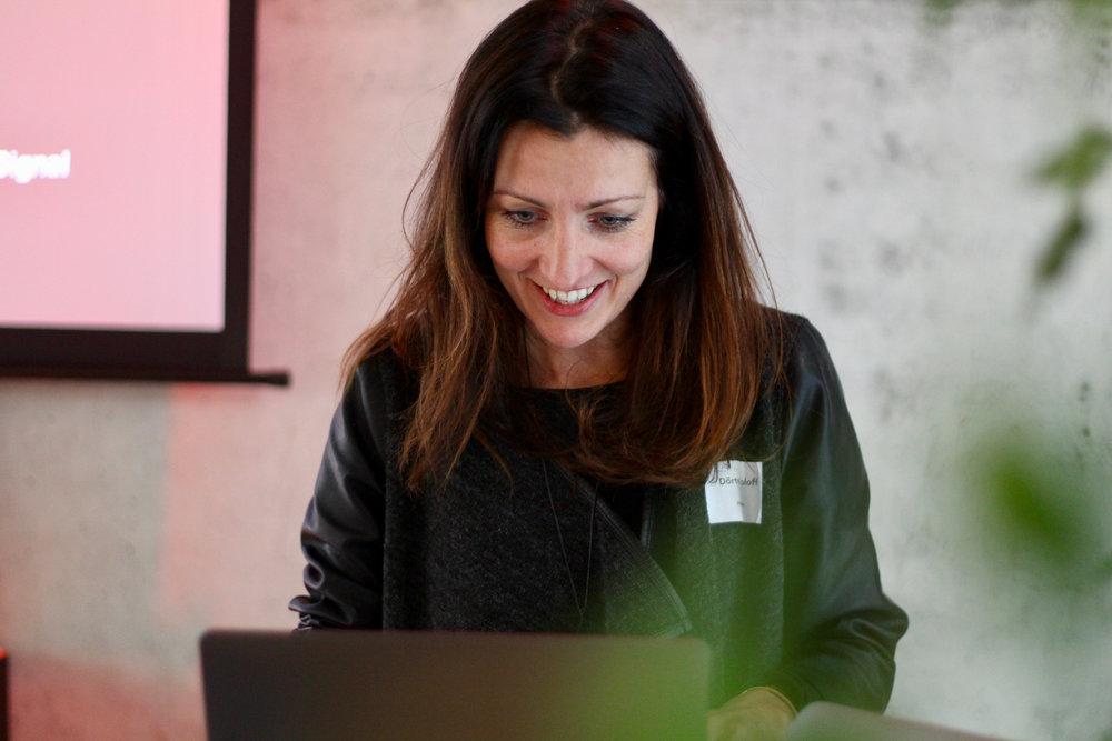 Dörte Roloff - Entrepreneurship expert and coach