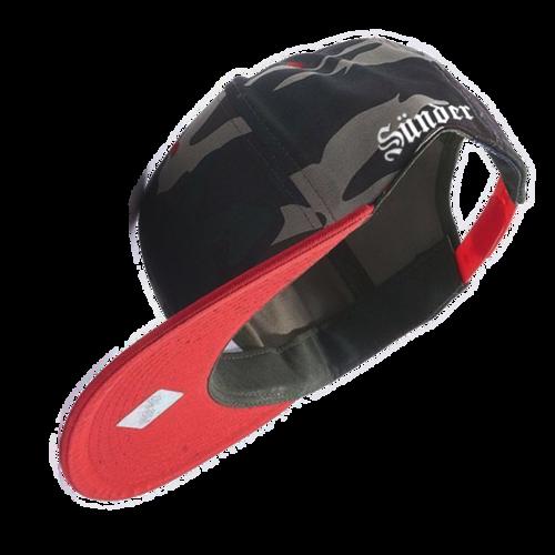 85e472a0b48 Red Camo Snapback — SÜNDER