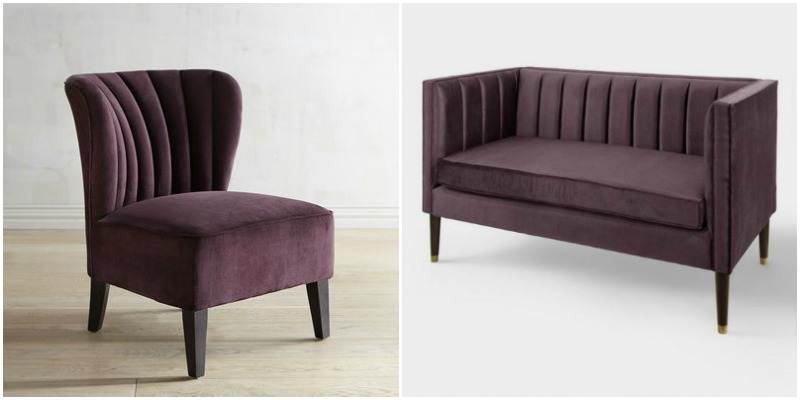 https://www.worldmarket.com/product/plum-bran-velvet-channel-back-upholstered-loveseat.do?sortby=ourPicksAscend&from=fn https://www.pier1.com/emille-plum-chair/3186865.html