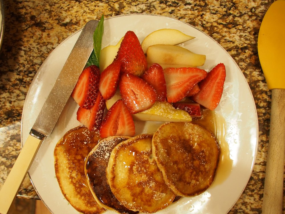 Souffle Kefir Pancakes