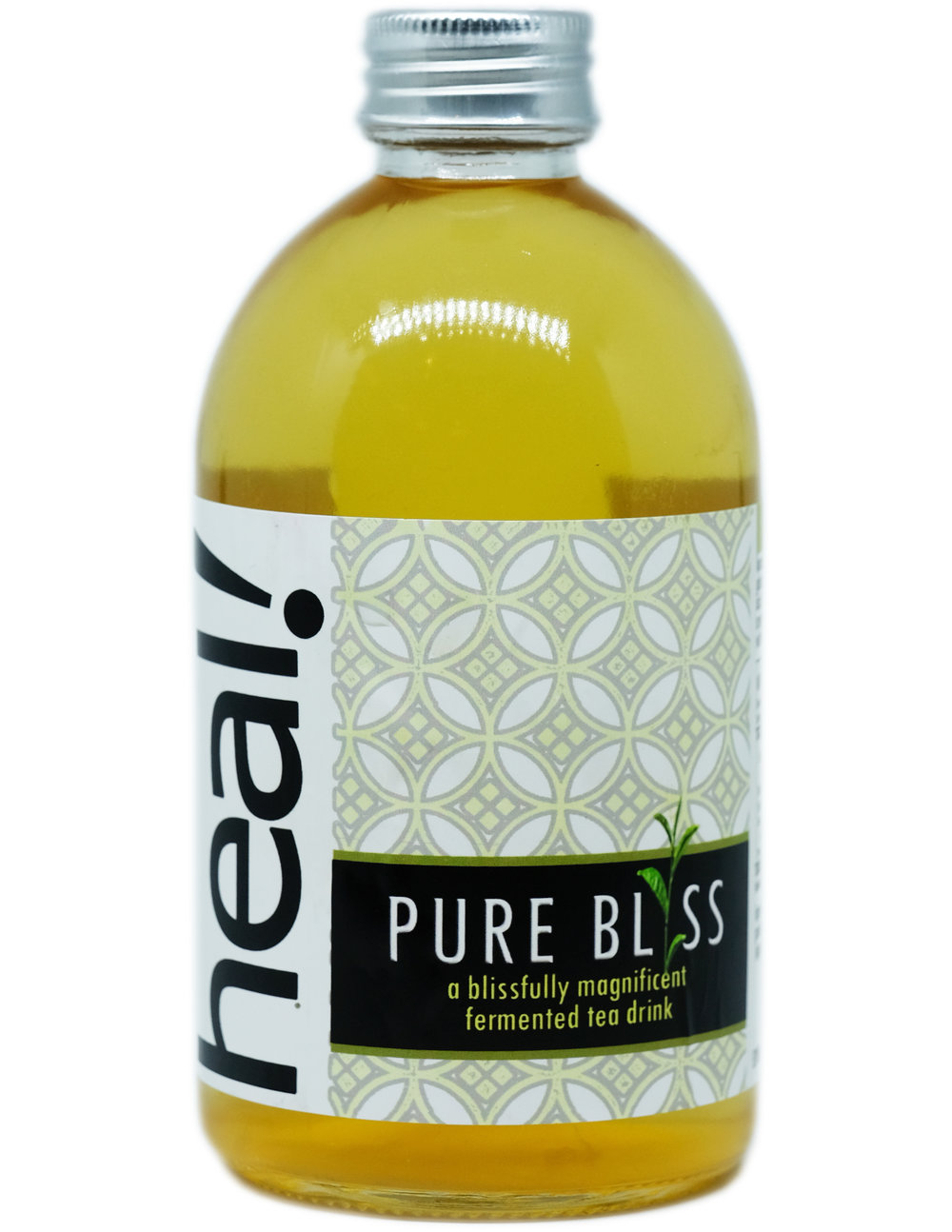 Pure Bliss is a pure kombucha with no flavor additions. It highlights the quality of our Javanese oolong tea in our kombucha brew. Our loose oolong tea is one of the finest tea leaves we possibly can find. Our oolong is sweet, fruity with honey aroma.  Oolong tea (烏龍茶 wūlóng chá or black dragon tea), usually rakes higher price as the manufacture of oolong tea involves repeating stages to achieve the desired amount of bruising and browning of leaves. Withering, rolling, shaping, and firing are similar to black tea, but much more attention to timing and temperature is necessary. In Fujian, China, they use this tea as ceremony tea.  Why do we use the best tea possible (read: expensive)? Because the quality of final kombucha depends on the choice of tea. After all, kombucha production takes only four inputs: water, tea, sugar, and time.  Pure Bliss is easy on the palate, making it a good starter kombucha for those who want to start a kombucha regimen.  Ingredients: Mineral Water, Kombucha Cultures, Java Oolong Tea, Natural Cane Sugar  Calorie 40, Sugar 3 grams per 175 ml before second fermentation, by which process reduces calorie and sugar content further and create fizz.  Packaged in 100% recyclable, reusable,  refundable  glass bottle. 370 ml.  RECIPE  click here   CONTACT US  click here