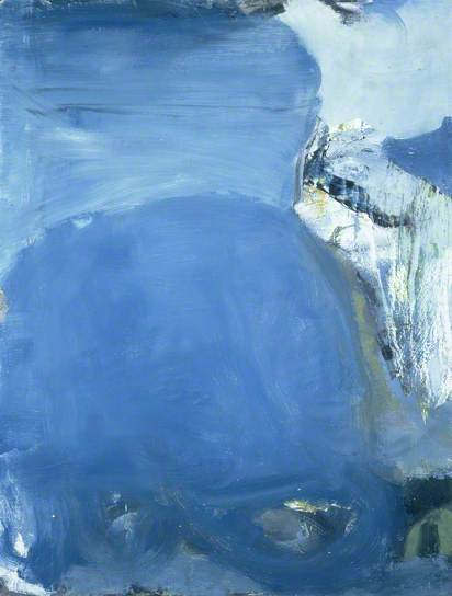 Peter Lanyon, Silent Coast, 1957. oil on masonite, 122 x 93.6 cm, Manchester City Galleries