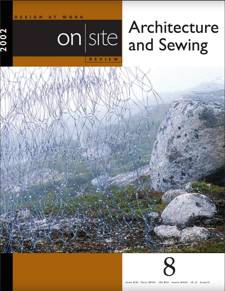 on site 8: sewing