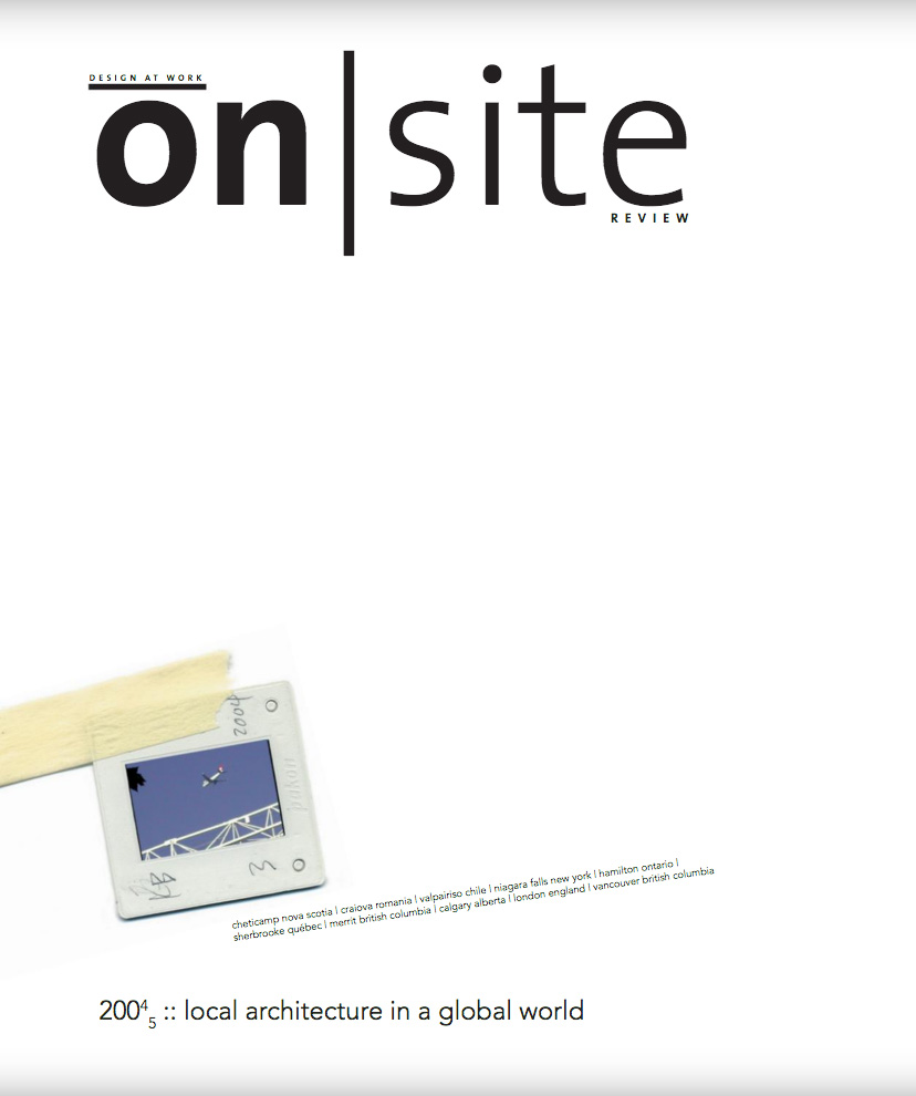 on site 12: local/global