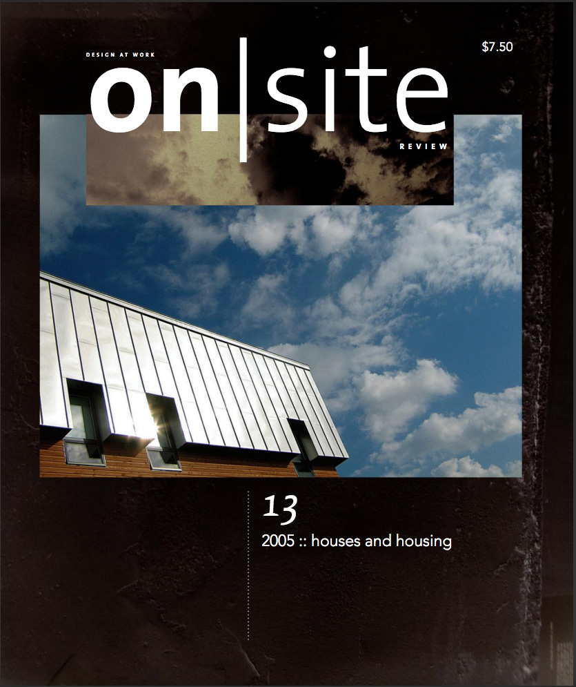 on site 13: housing