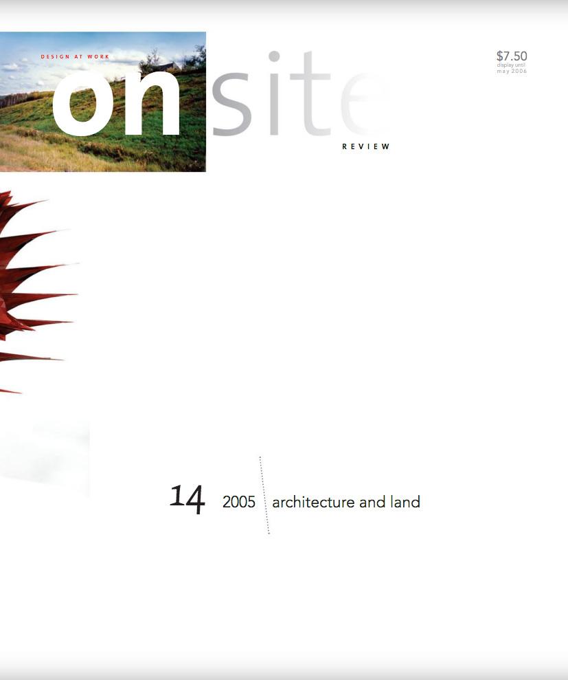 on site 14: land