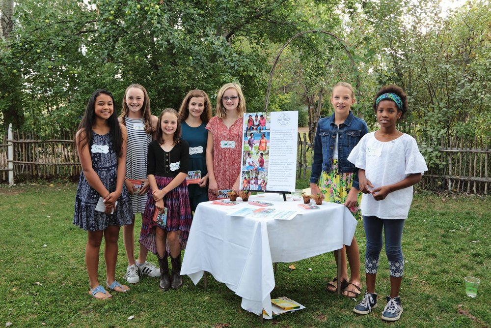 Some of the young ambassadors had previously met at CHP's Annual Farm Dinner in early September.