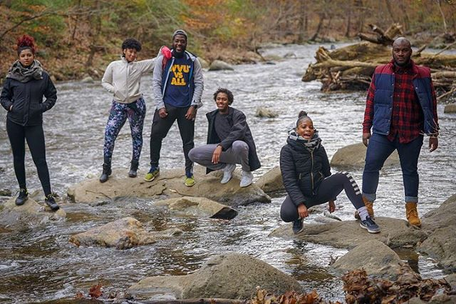 Our first #SoulTrakSocial was a success! A Great Day in Rock Creek Park. Community building over a day in nature is always unmatched with an insightful 'sense of place' exercise, lots of laughter, and some bomb photos set us in high spirits to finish the day over mimosas and fish and grits to die for! 🍛🥂 Who's down for the next hike and brunch?!? #SoulTrak