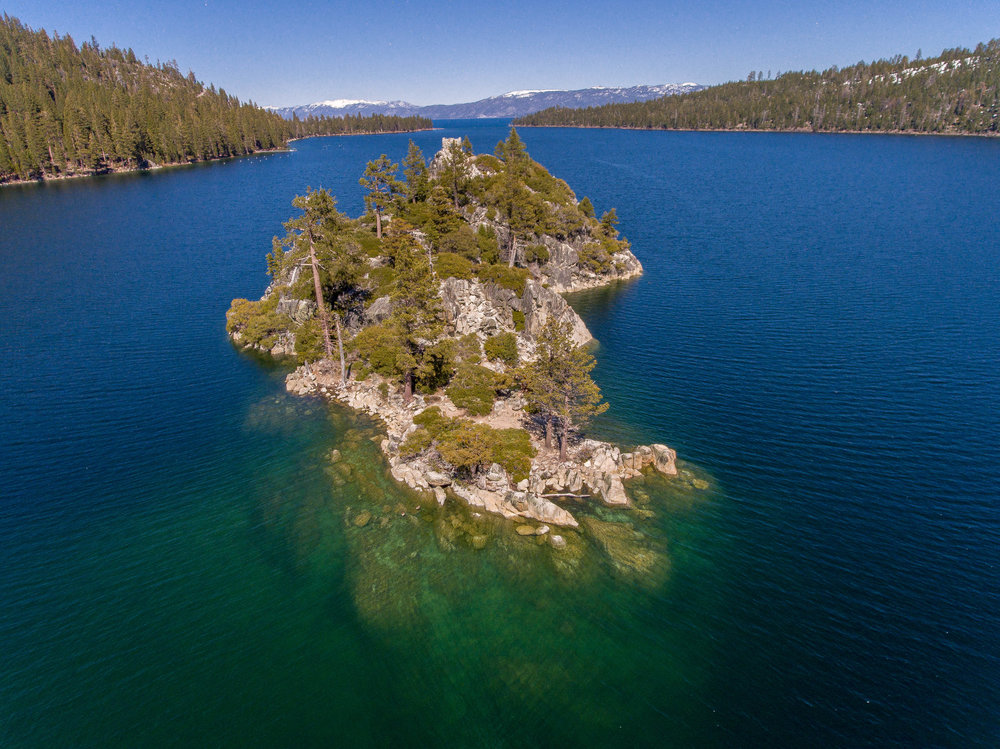 Emerald Bay, Lake Tahoe, California.