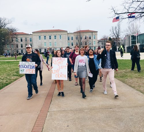 SGF Walkout For Our Lives - 2018 — Heart Actions
