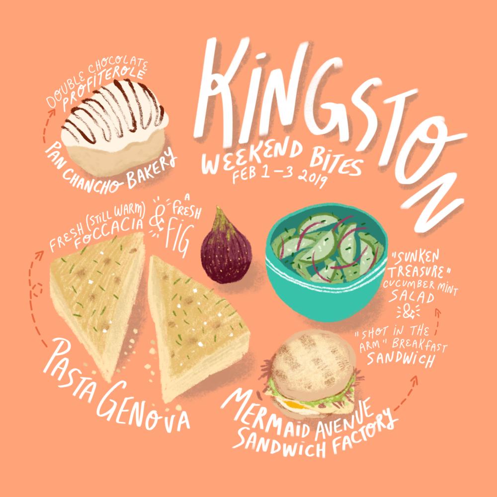 Weekend Bites - Kingston 2019