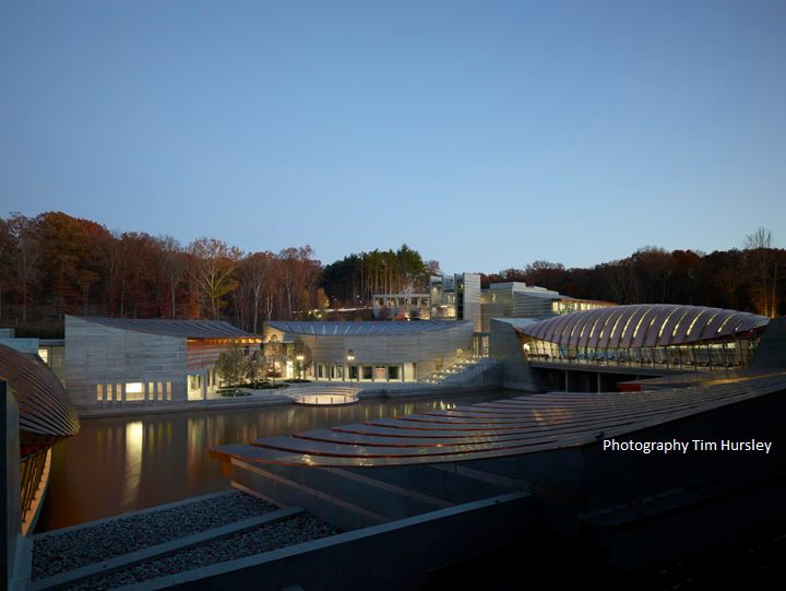 Photo taken from the  Crystal Bridges Facebook Page