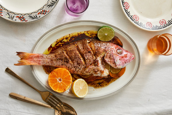 Whole Fish With Soy and Citrus