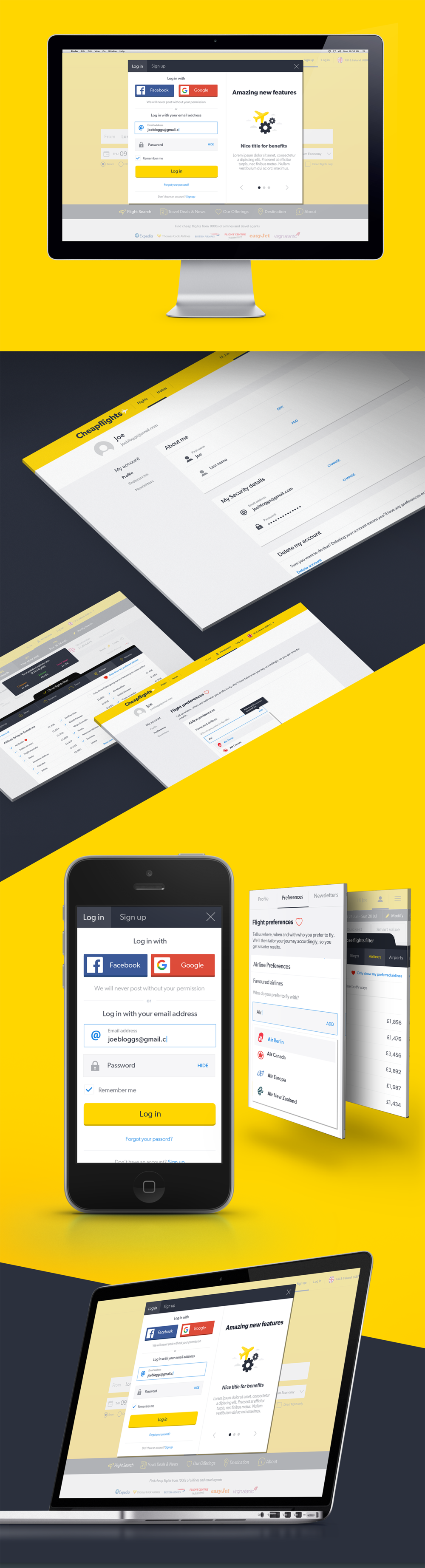 Responsive design for personalisation