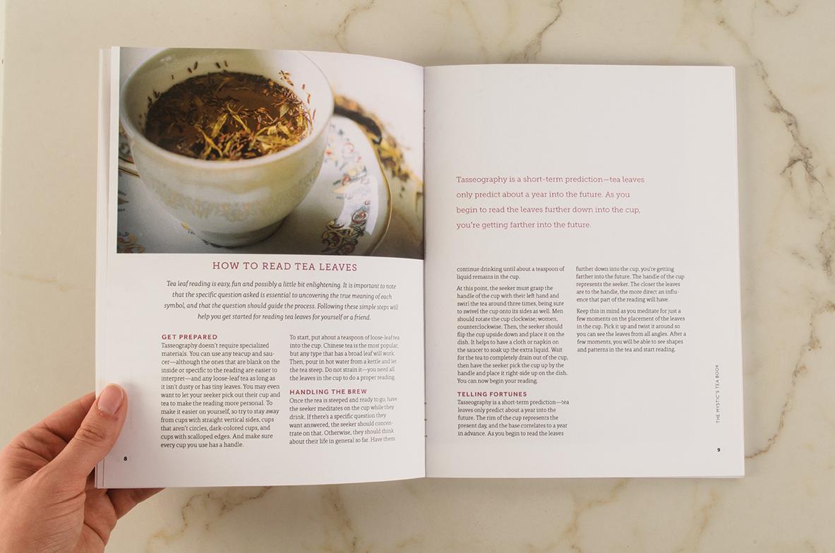 Tea Blending Tea Leaf Reading Grace Stallard Design